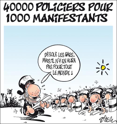 l'algérie en caricature 1 dans c'est la caricature qui parle. dilem15
